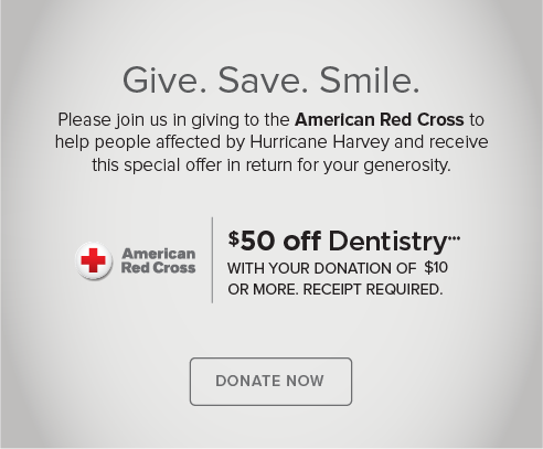 Canyon Modern Dentistry and Orthodontics - Donate Red Cross® Hurricane Harvey